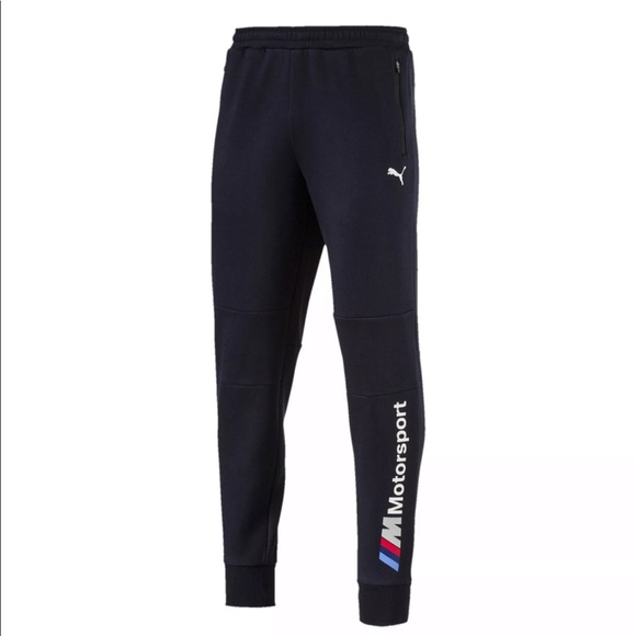 6656e9600b466 NEW ! Mens Puma BMW Motorsport Sweat Pants Boutique